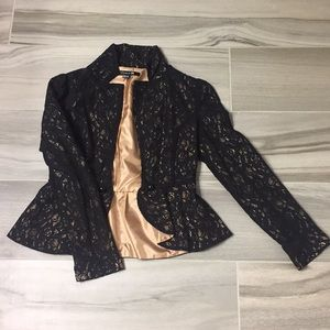 Forever 21 Lace Blazer